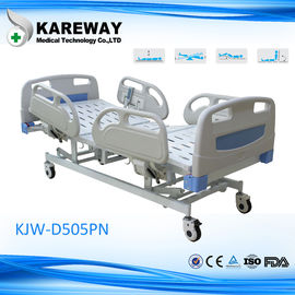 China Multifunction Electric Hospital Bed With Steel PP ABS Material , 5 Inch Caster supplier