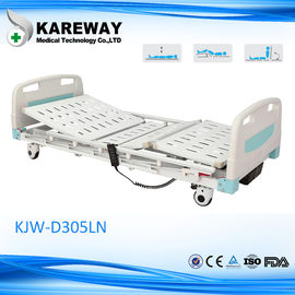 China Automatic Folding Medical Adjustable Bed Hydraulic Design For ICU And Patient supplier