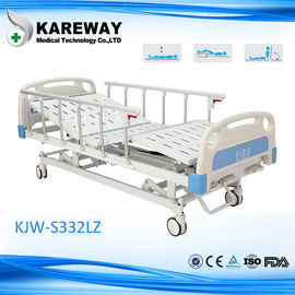 China Luxury Manual Electric Adjustable Beds , Multifunction Intensive Care Bed With Back Raise Function supplier