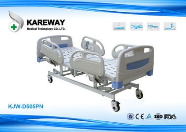 China PP Side Rails High Low Bed Hospital Bed , Adjustable Medical Bed For Hospital Patient supplier