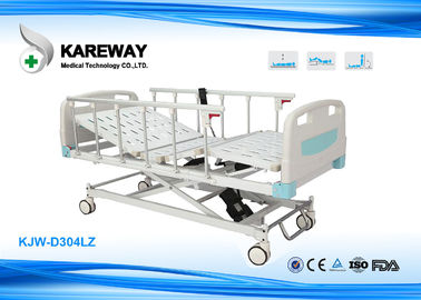 China Silent Safe Lock ICU Hospital Bed With X Structure Based , Multi - Angle Motion supplier