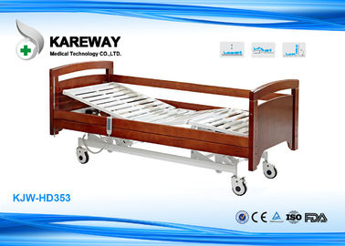 China Safety Home Hospital Folding Bed , Electric Adjustable Beds 300 Kgs Weight Limit supplier
