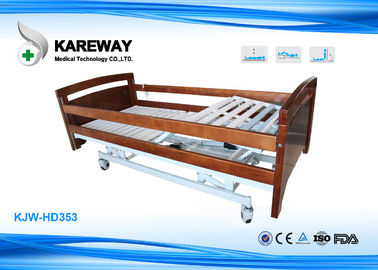 China Commercial Wooden Hospital Medical Beds , Full Electric Hospital Bed For Home Use supplier