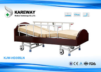 China 3 Functions Homecare Hospital Beds Nursing Bed With Solid Wood , Metal Material supplier