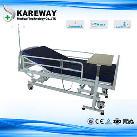 China Three Functions Electric Medical Bed With Dining Table , MOTECK Motor supplier