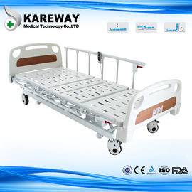 China Three Positions Hospital Patient Bed , Remote Control Electric Care Bed CE FDA Certificates supplier