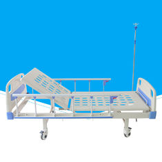 High Performance Manual Hospital Bed Practical Steel Powder Coated Bed Frame