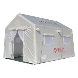 China Waterproof Large Temporary Hospital Tent Building Steel Structure Peak Top Roof supplier