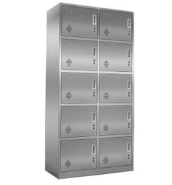 Changing Room / Office Storage Lockers , 10 Door Personal Storage Lockers