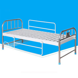 Ward Medical Clinic Bed , Medical Hospital Furniture With Turn Over Side Rails