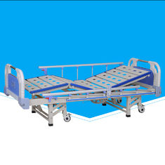 Detachable Automatic Hospital Bed , Collapsible 3 Cranks Electric Nursing Bed