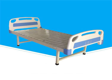 Commercial Flat Hospital Bed , Steel Powder Coated Adjustable Hospital Bed