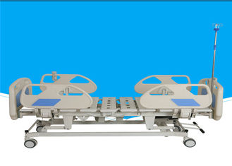 3 Functions ICU Electric Hospital Bed Height Adjustable Metal Material