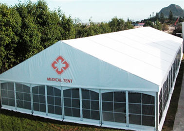 High Strength Outdoor Temporary Storage Tent  Large Capacity Field Hospital Tent