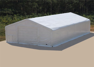 Industrial Emergency Shelter Tent , PVC / PE Fabric Cover Disaster Relief Tent