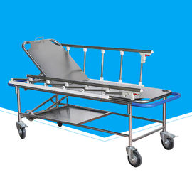 Removable Wheeled Ambulance Stretcher , Durable Lightweight Portable Stretcher