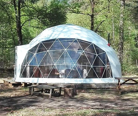 15m diameter large geodesic dome tent house for outdoor activities