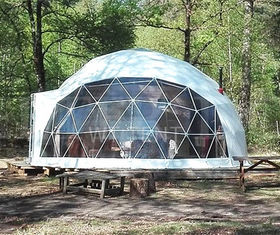 Sphere 15m Diameter PVC Coated Geodesic Dome Tent