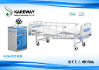 China Lightweight Manual Hospital Bed , Hospital Adjustable Bed 250 Kgs Weight Capacity factory