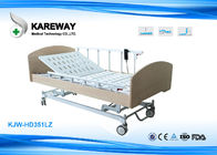 China High Low Medicare Approved Hospital Beds With Centrally Controlled Brake System factory