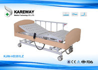 China Multifunction Hospital Adjustable Patient Bed Detachable With White , Beige Colour factory