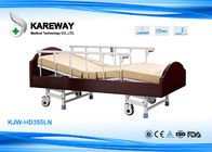 China 3 Functions Homecare Hospital Beds Nursing Bed With Solid Wood , Metal Material company