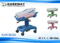 China 4 Casters Baby Sleeping Cot Bed , Baby Doll Hospital Bed 3 Functions Adjusted factory