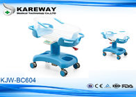 China Hydraulic Adjustable Height Baby Born Hospital Bed With Non Toxic Environmentally Friendly ABS Plastic factory