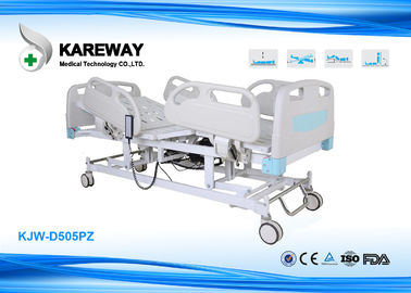 Removable Five Functions ICU Hospital Bed , Embedded Control Patient Hospital Bed
