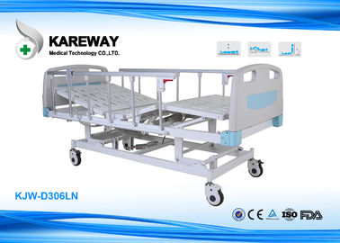 Adjustable ICU Hospital Bed Three Function With Extensive Head Foot Section