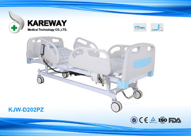 Two Functions Electric Care Hospital Bed With Centrally Controlled Brake System