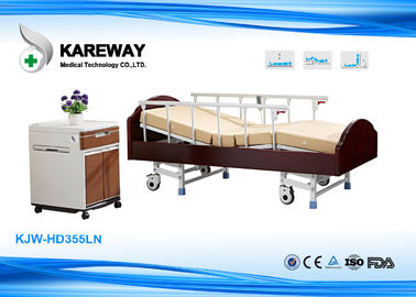 Charity Hospital Wooden Hospital Patient Bed , Old Man Hospital Bed Easy Removable