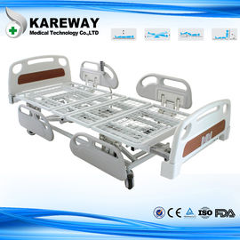Length Extension Hospital Patient Bed Five Functions With Mesh Frame Mattress