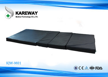 Black Color Hospital Bed Mattress With 2cm Coconut And Palm Fiber , 6cm Sponge Material