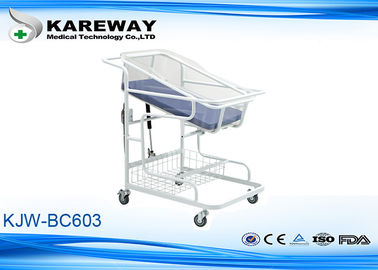 ABS One Step Molding Pediatric Hospital Beds Born Baby Cot With Mattress For Public Hospital
