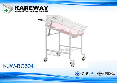 Easy Clean Pediatric Hospital Beds , Hospital Baby Bed With 3 Inches Castors