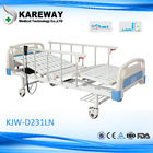 Alumum Guard Rails Adjustable Medical Beds Two Motors , 250KGS Max Load